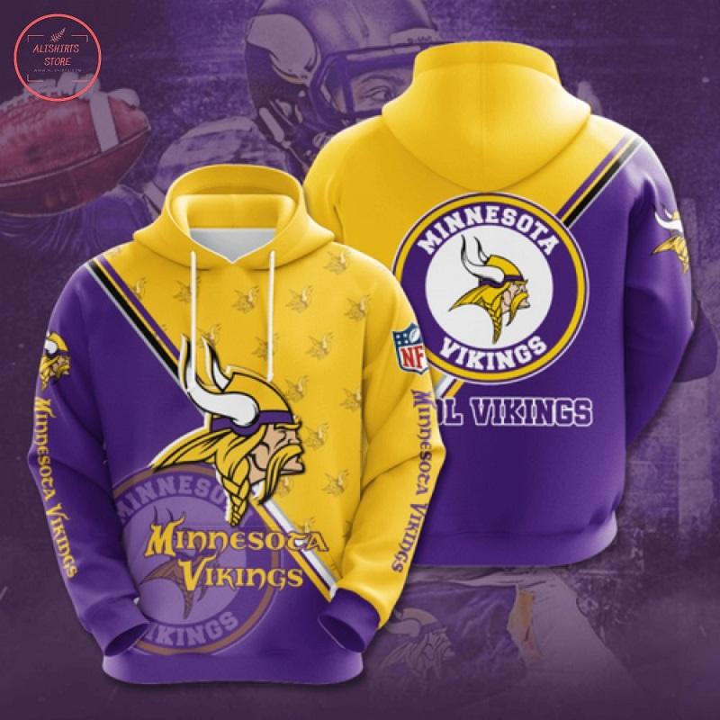 NFL Minnesota Vikings Hoodie 3D
