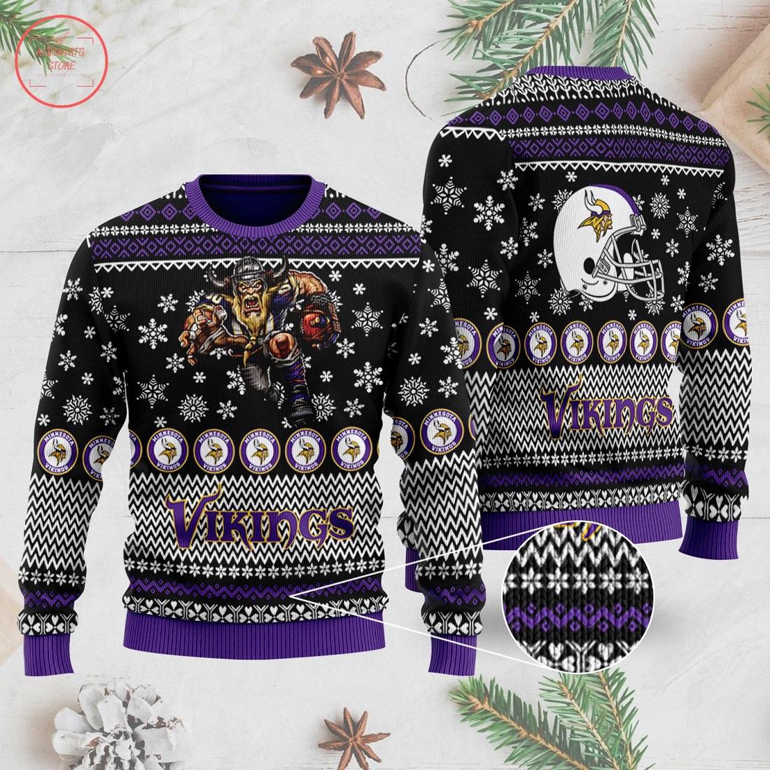 NFL Minnesota Vikings Ugly Christmas Sweater