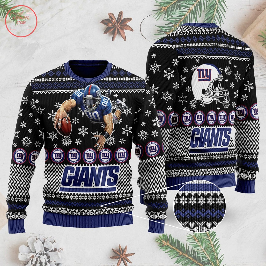 NFL New York Giants Ugly Christmas Sweater