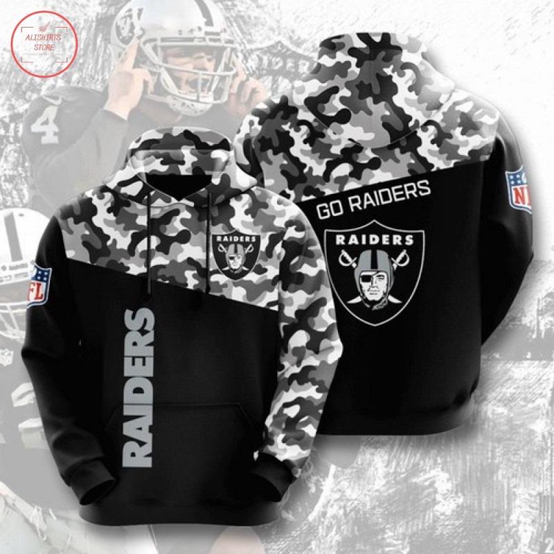 NFL Oakland Raiders Hoodie 3D