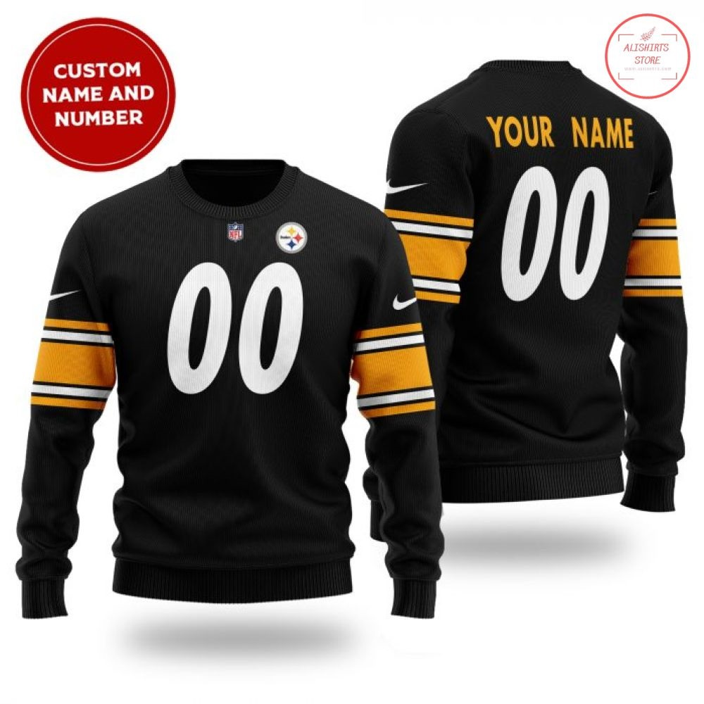 NFL Pittsburgh Steelers Personalized Sweater