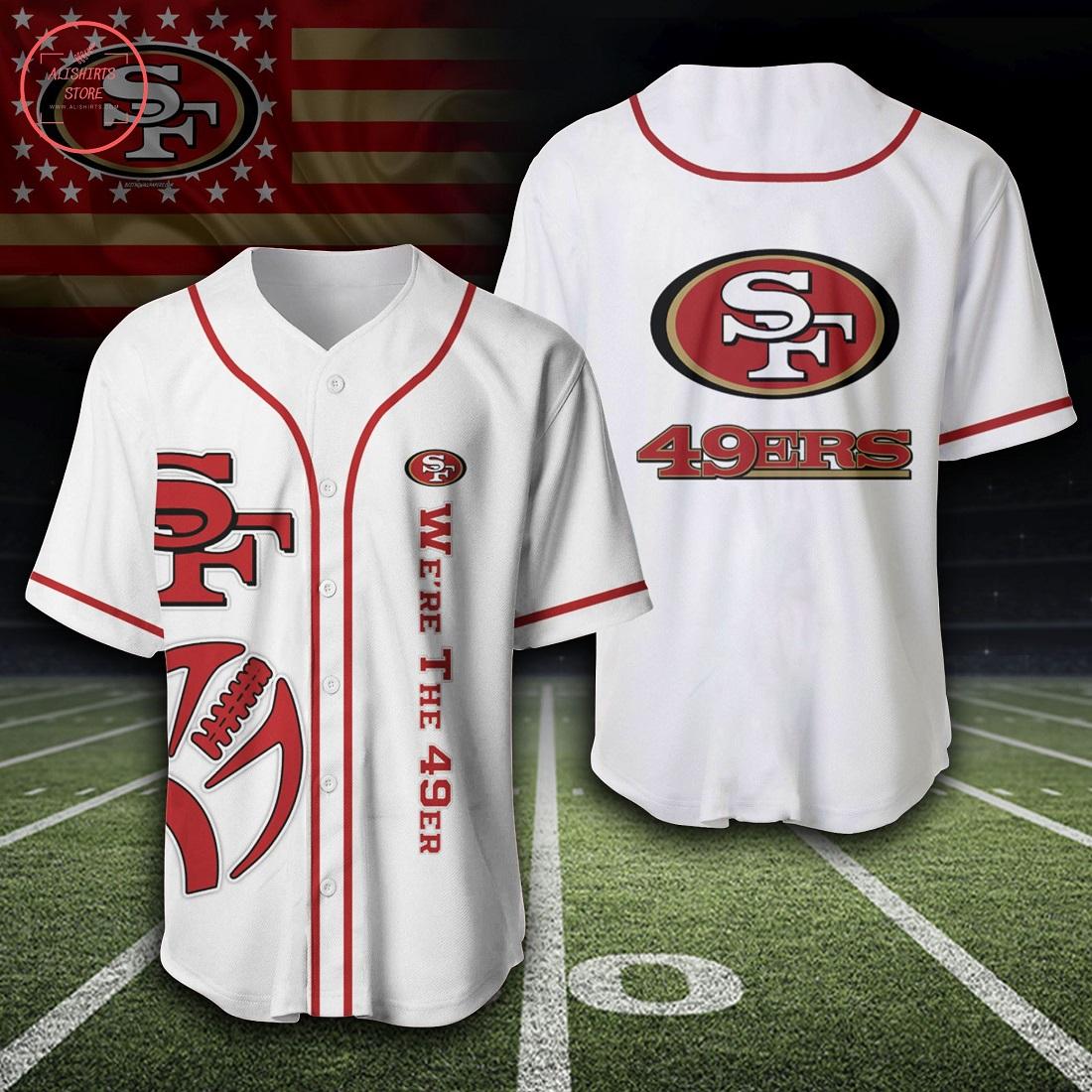 NFL San Francisco 49ers Baseball Jersey