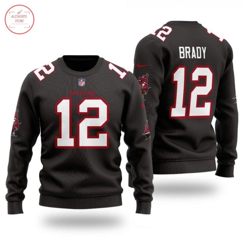 NFL Tampa Bay Buccaneers 12 Brady Sweater