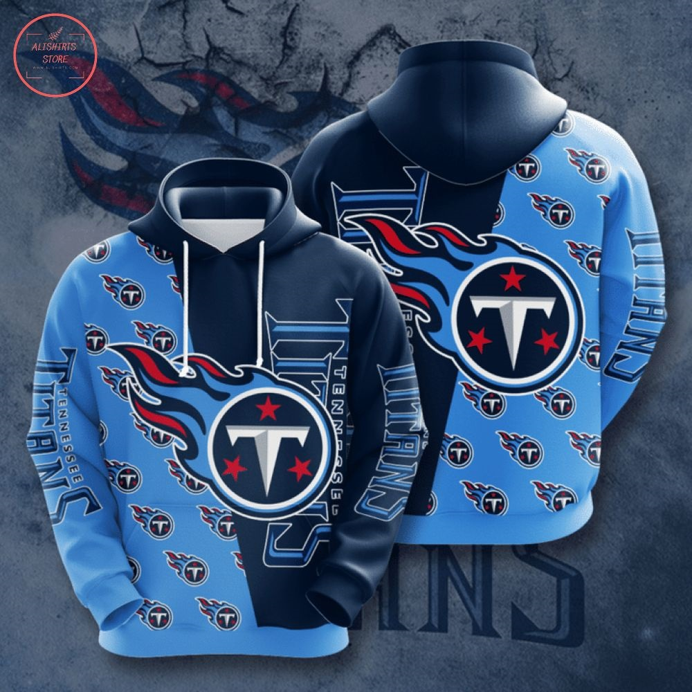 NFL Tennessee Titans All Over Printed Hoodie
