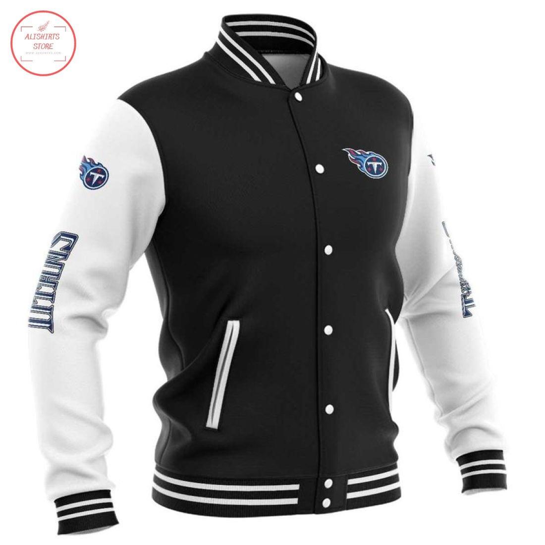 NFL Tennessee Titans Baseball Jacket