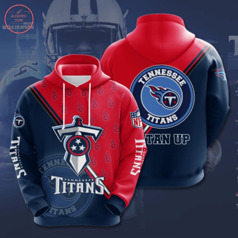 NFL Tennessee Titans Hoodie 3D