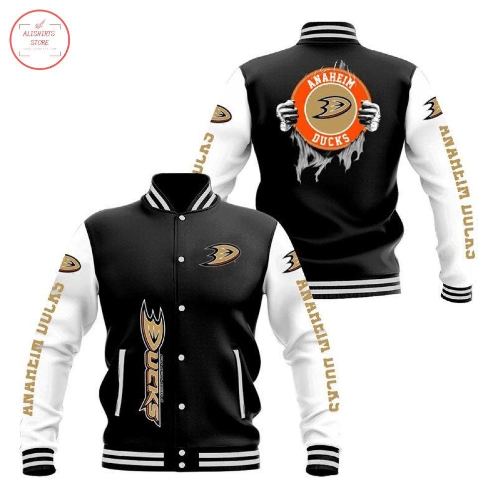 NHL Anaheim Ducks Varsity Jacket