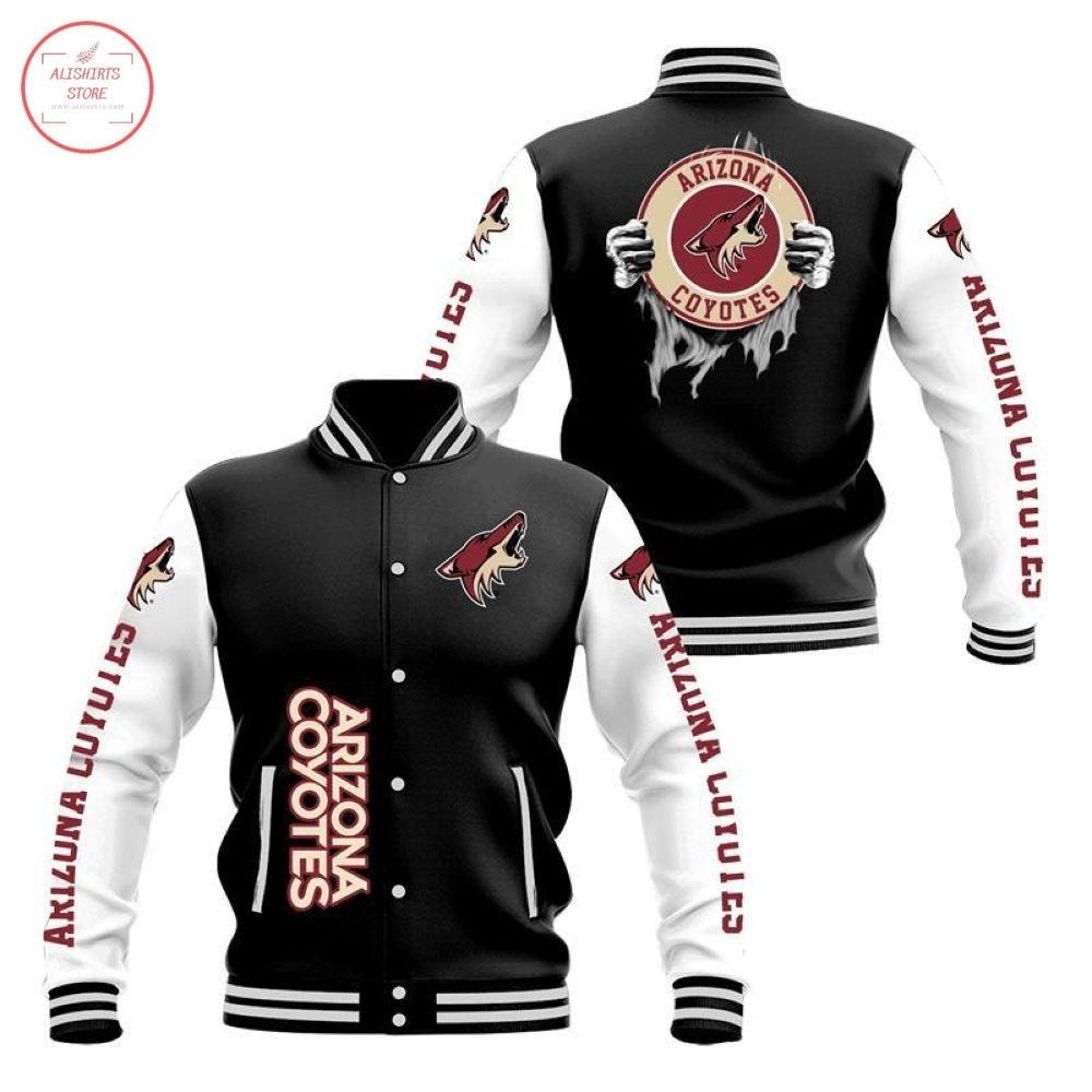 NHL Arizona Coyotes Varsity Jacket
