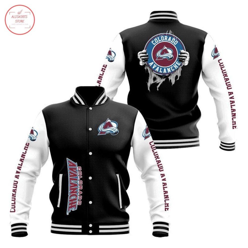 NHL Colorado Avalanche Baseball Jacket