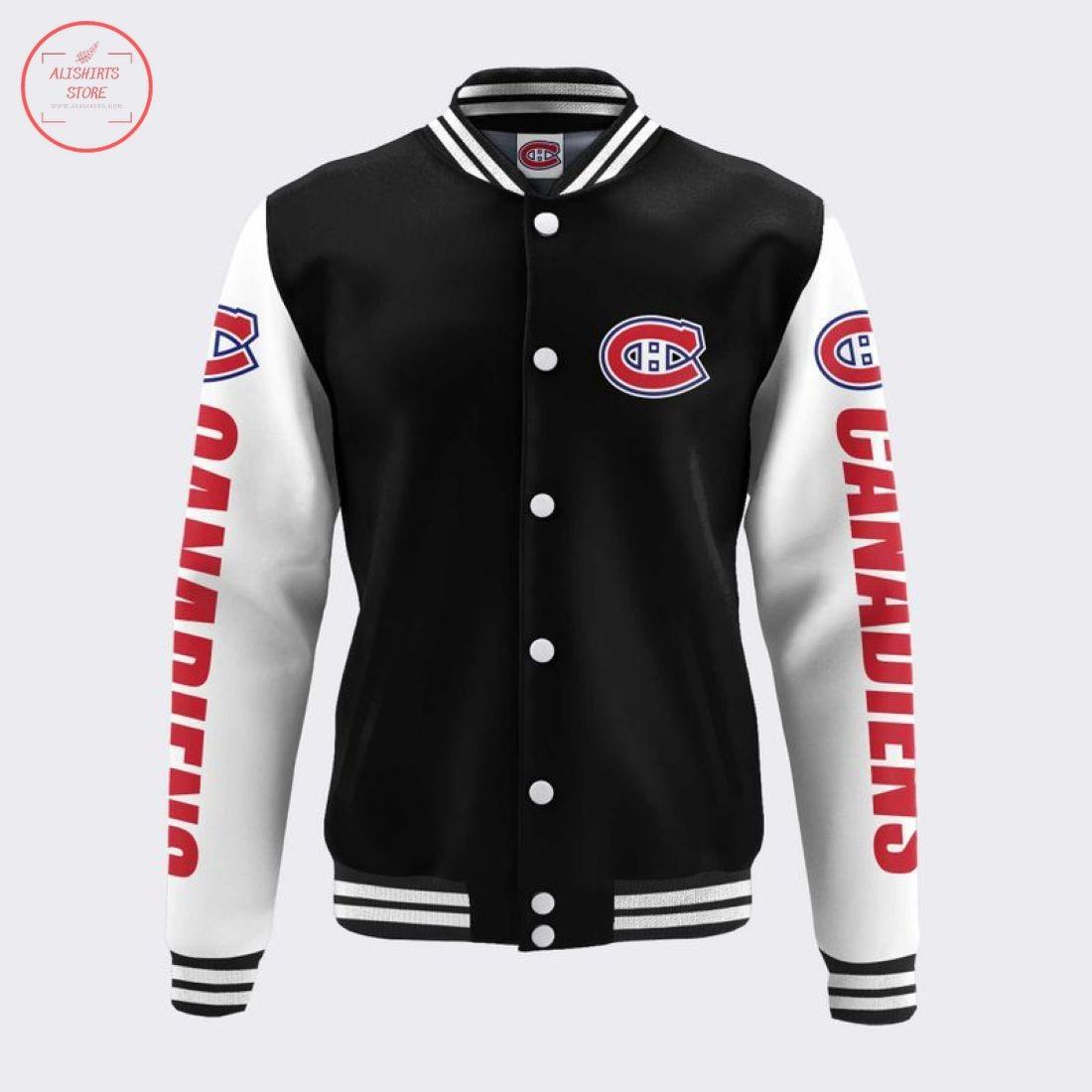 NHL Montreal Canadiens BaseballJacket