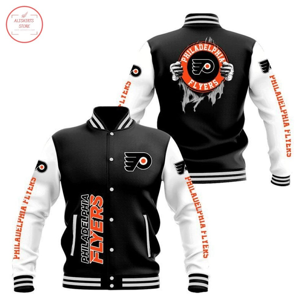 NHL Philadelphia Flyers Varsity Jacket