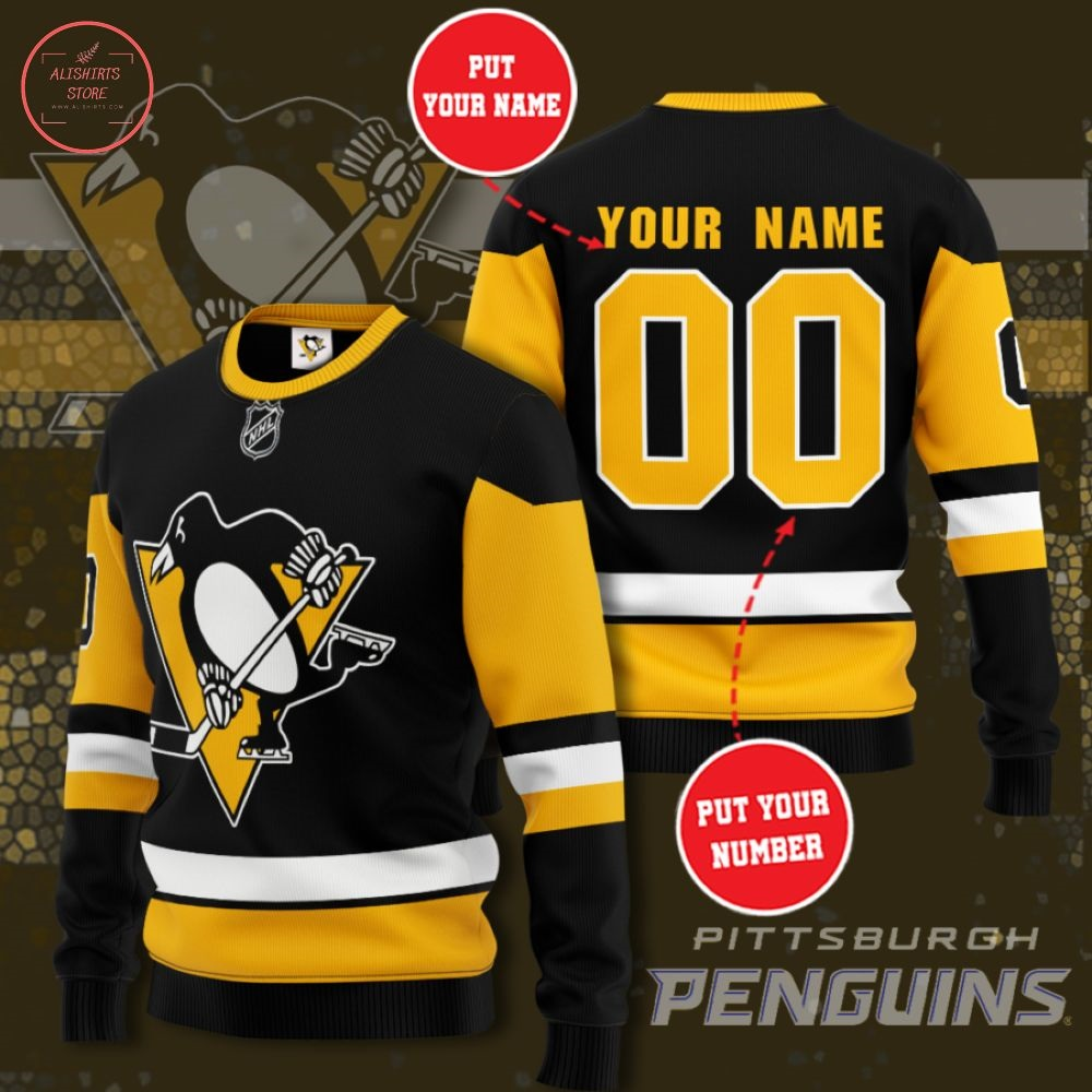 NHL Pittsburgh Penguins Personalized Sweater