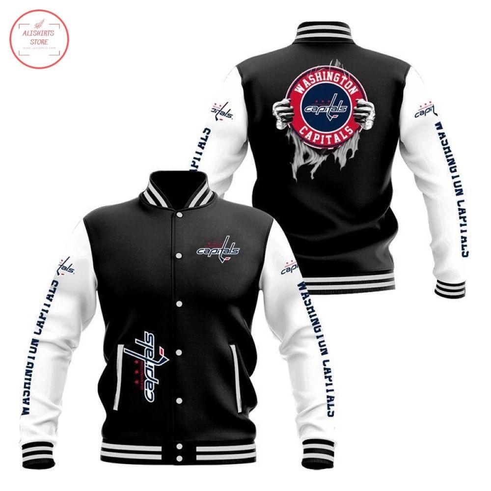 NHL Washington Capitals Varsity Jacket
