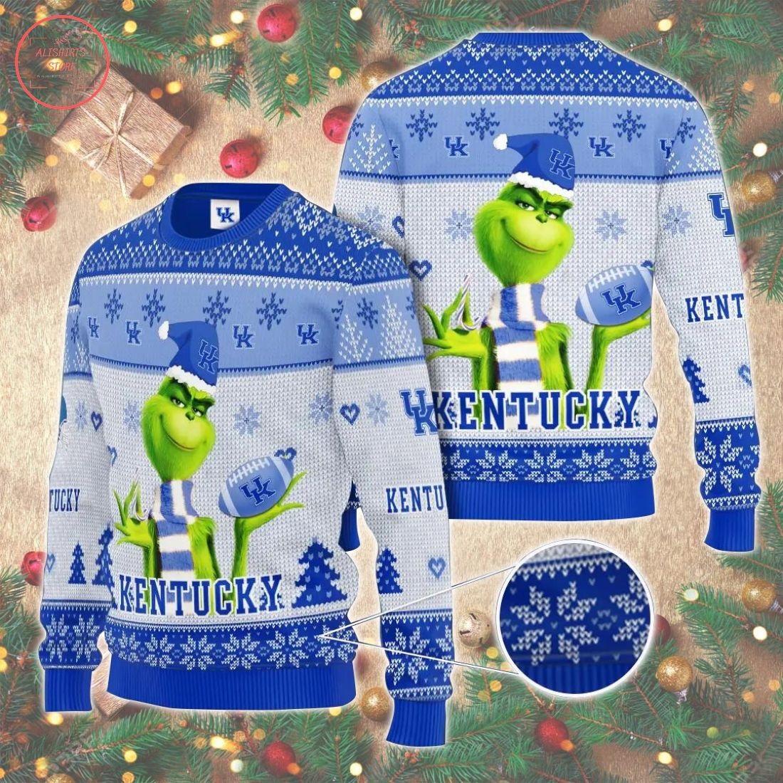 Ncaaf Kentucky Wildcats Christmas Sweater
