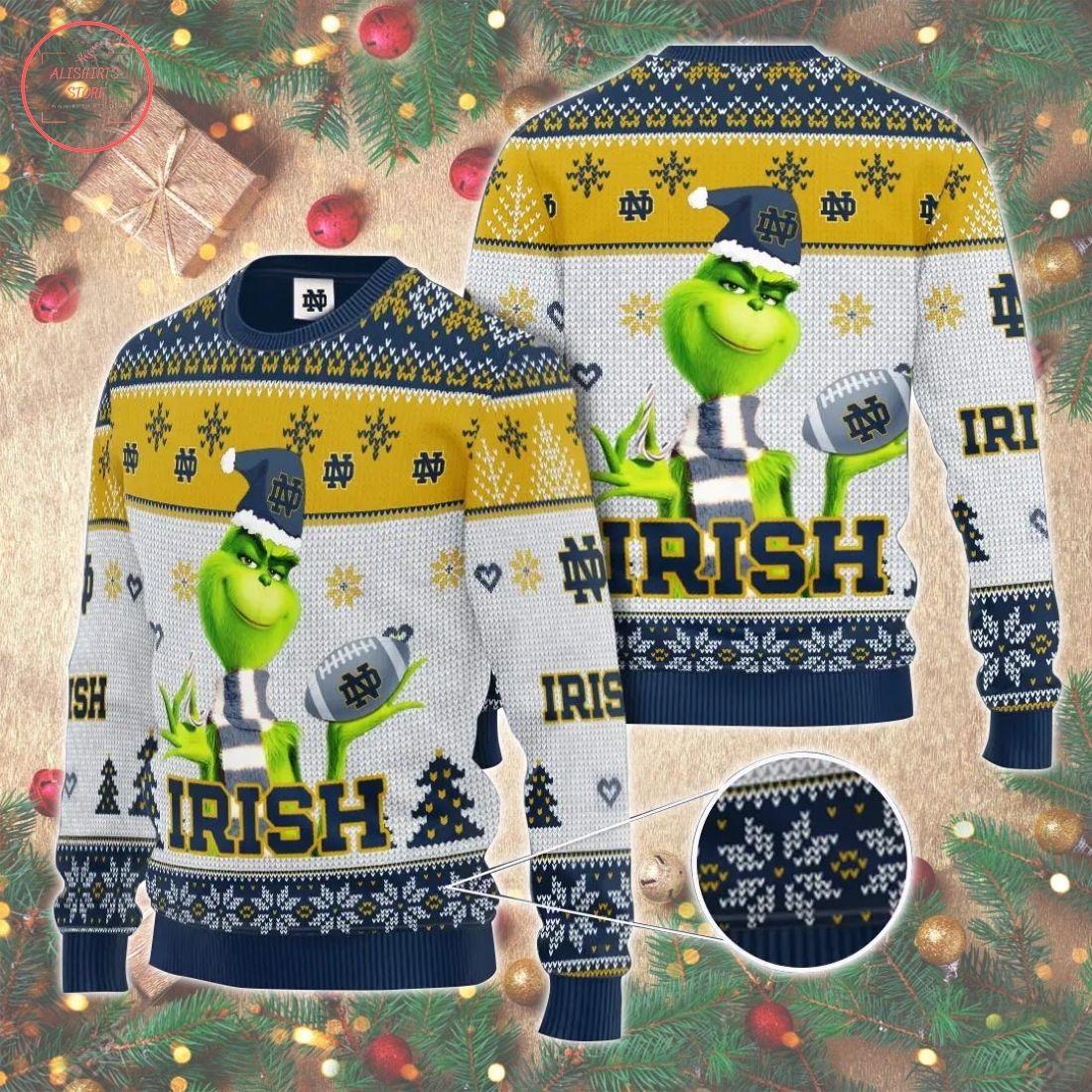Ncaaf Notre Dame Fighting Irish Christmas Sweater