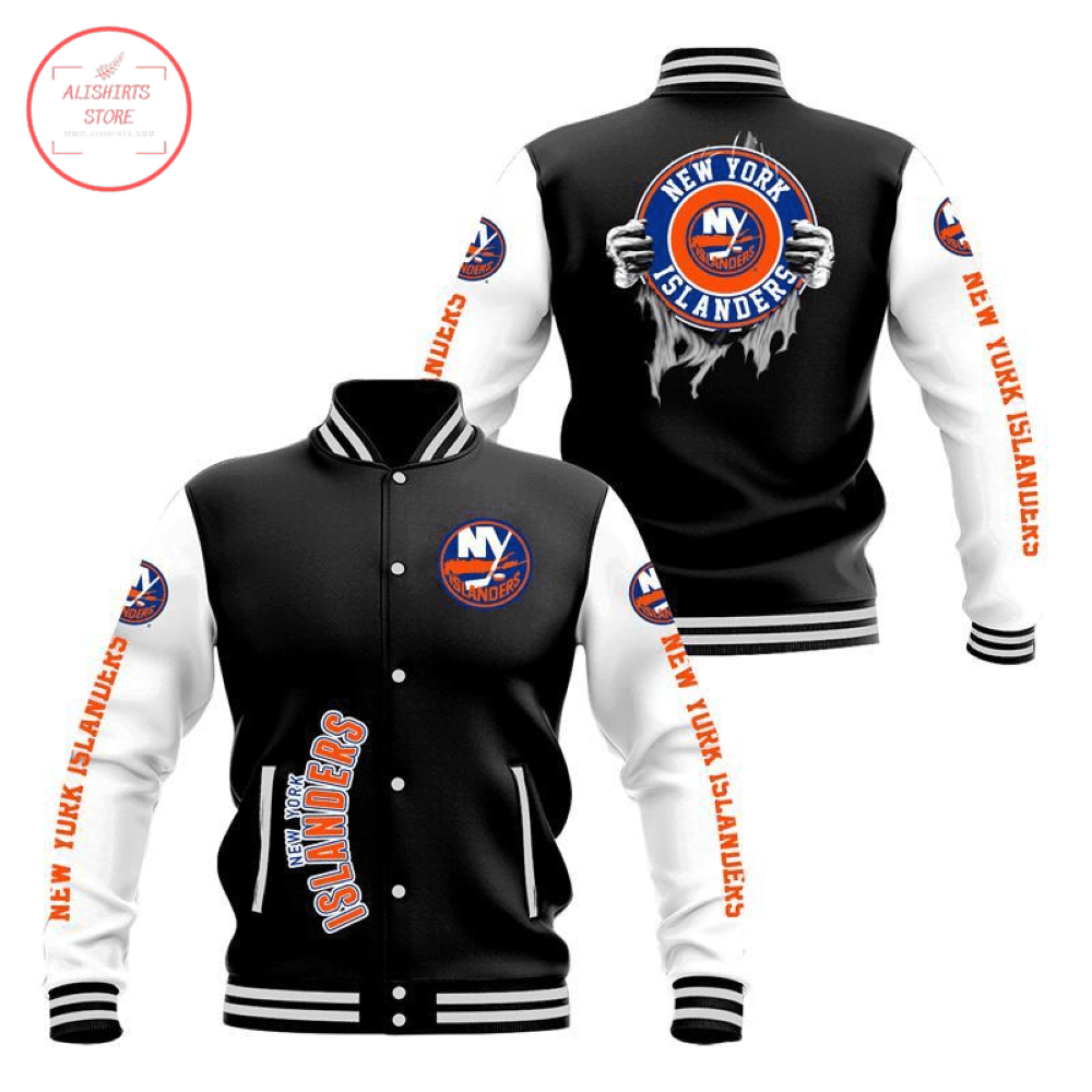 New York Islanders 3D Baseball Jacket