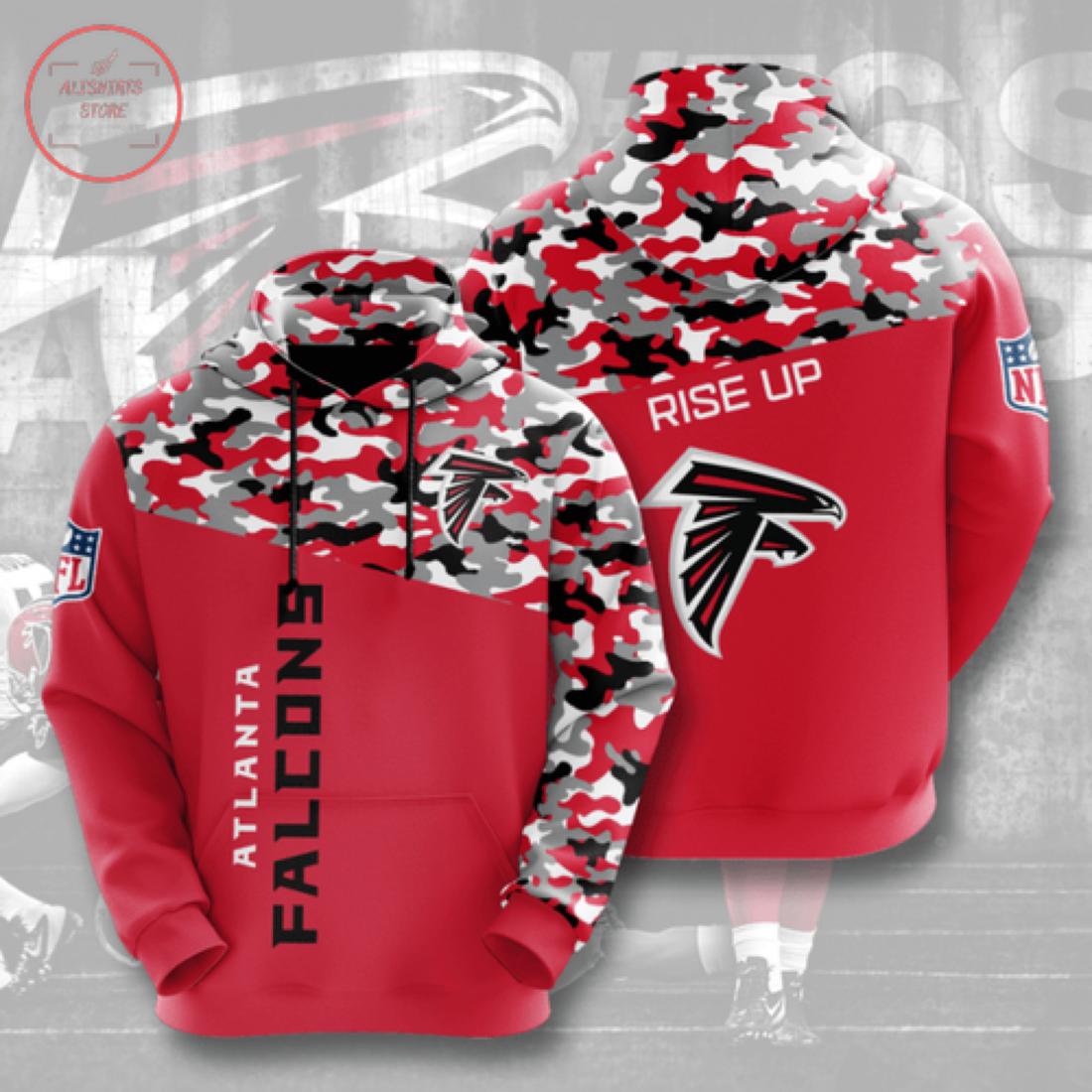 Nfl Atlanta Falcons Personalized Hoodie 3D
