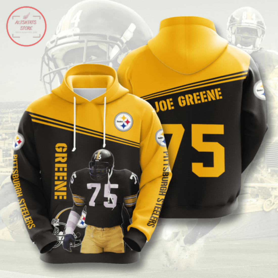 Nfl Pittsburgh Steelers Personalized Hoodie 3D
