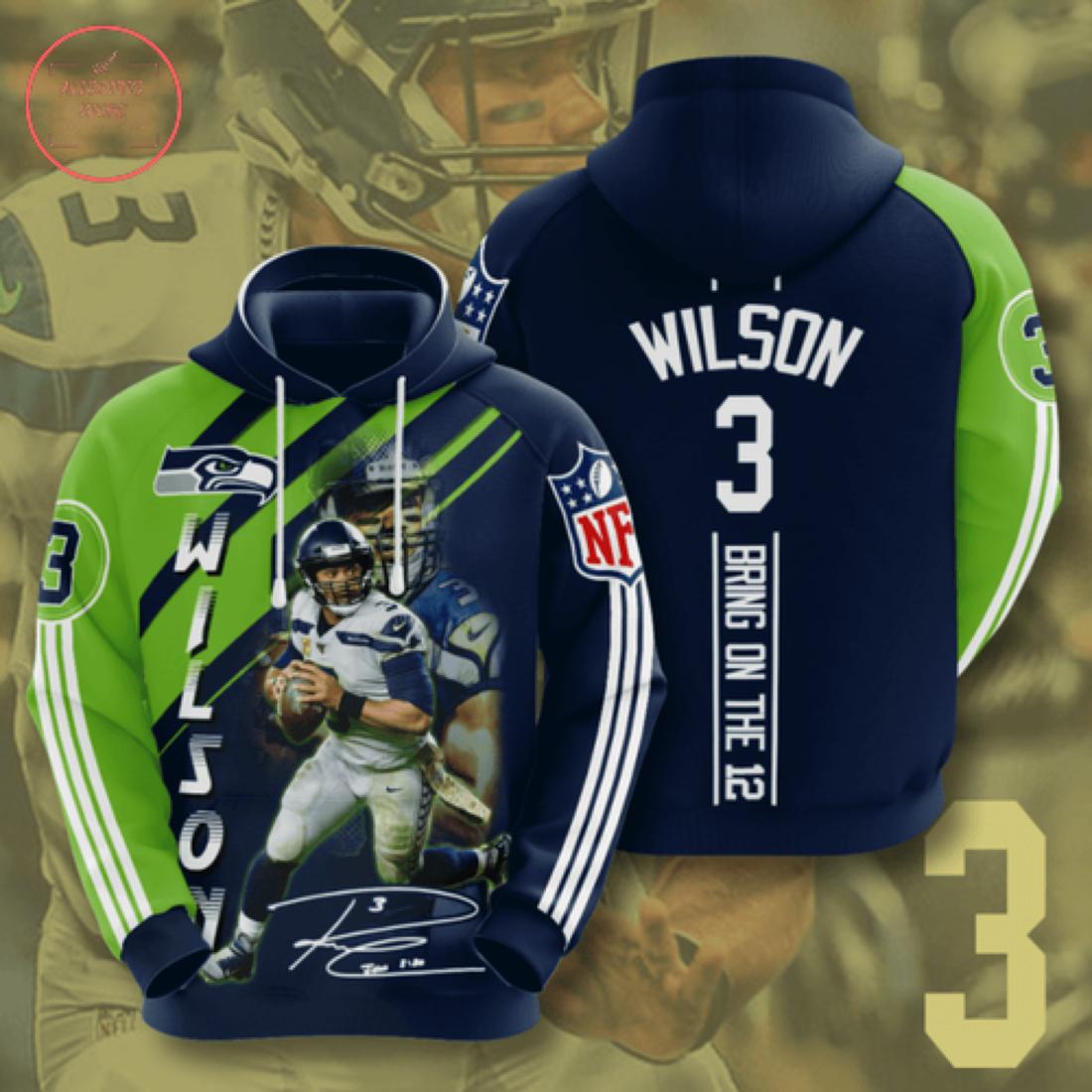 Nfl Seattle Seahawks Personalized Hoodie 3D