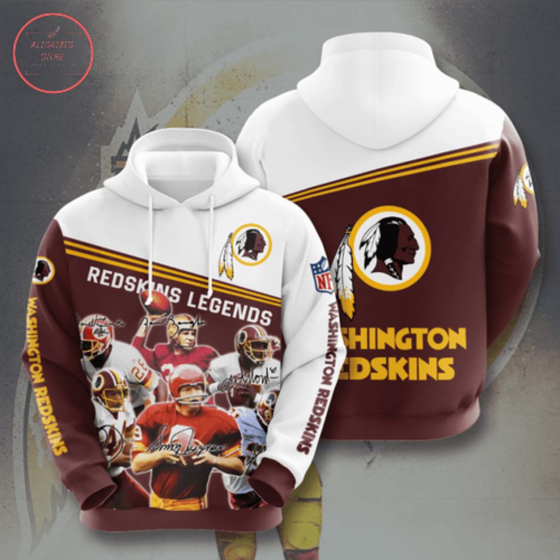Nfl Washington Redskins Personalized Hoodie 3D
