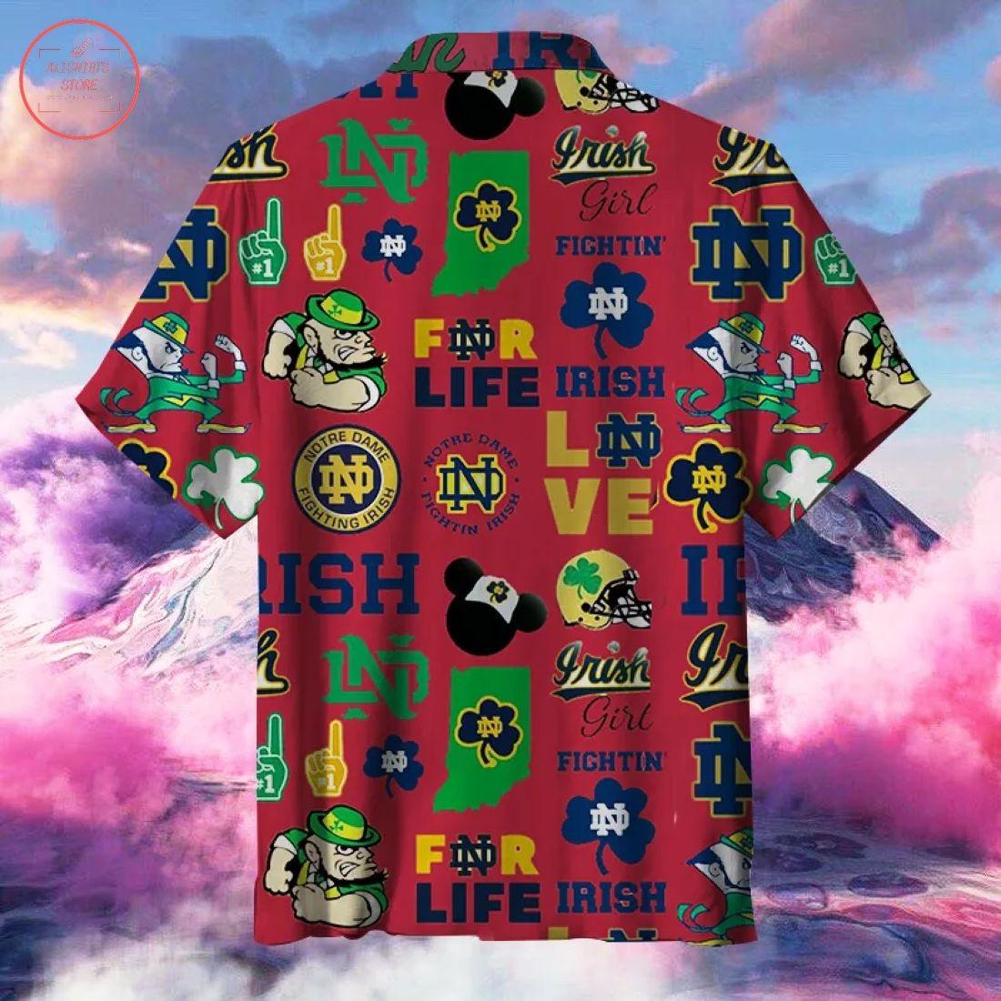 Notre Dame Fighting Irish Hawaiian Shirt