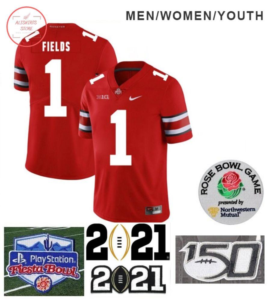 Ohio State Buckeyes Custom Red