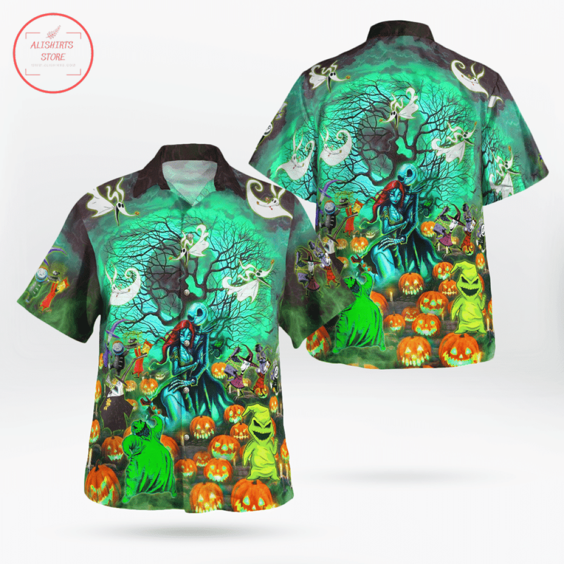 Our Town Of Halloween Hawaiian Shirt