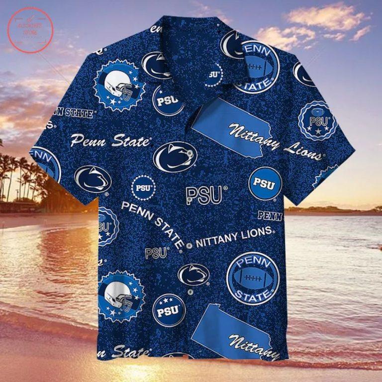 Penn State Nittany Lions Hawaiian Shirt