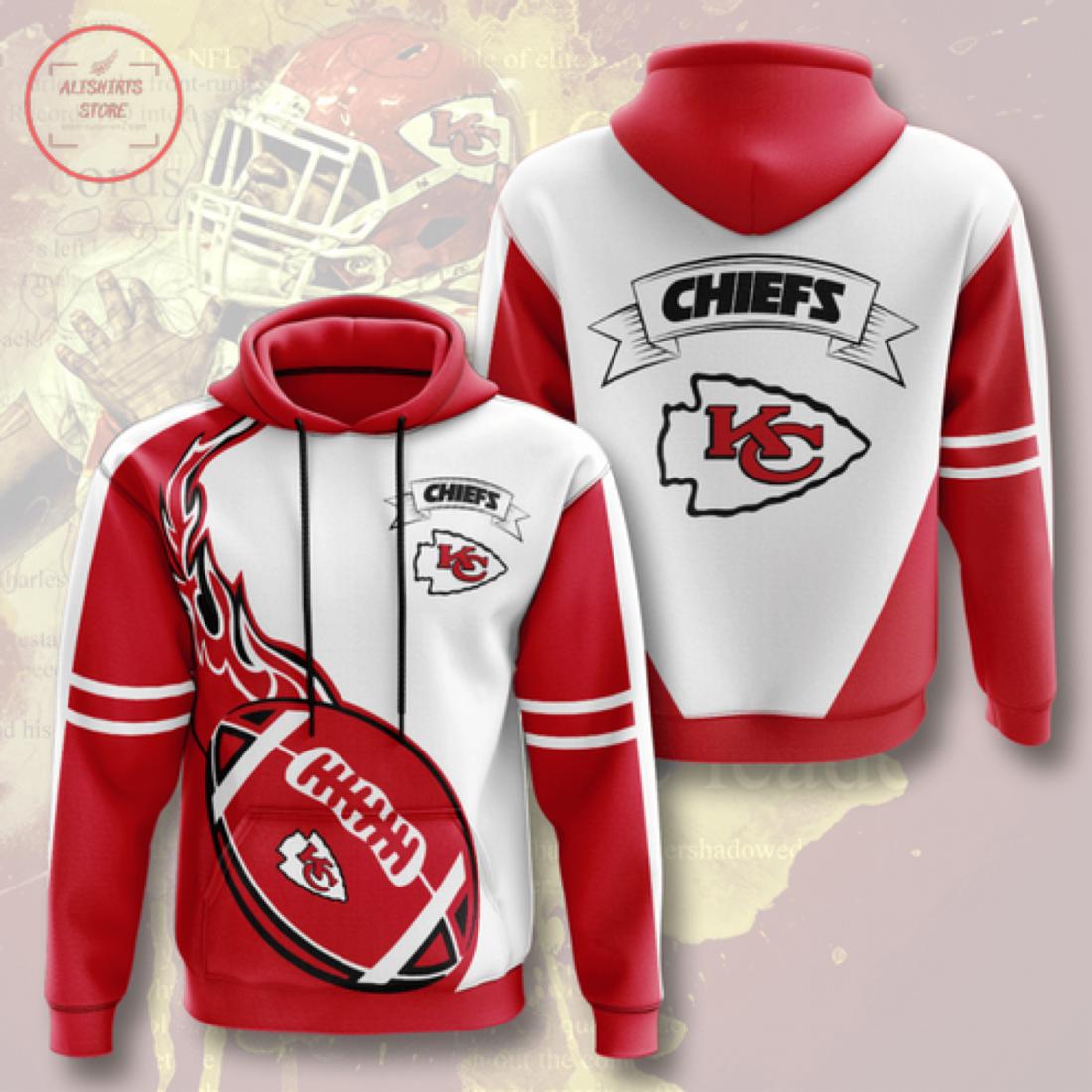 Personalized NFL Kansas City Chiefs Hoodie 3D