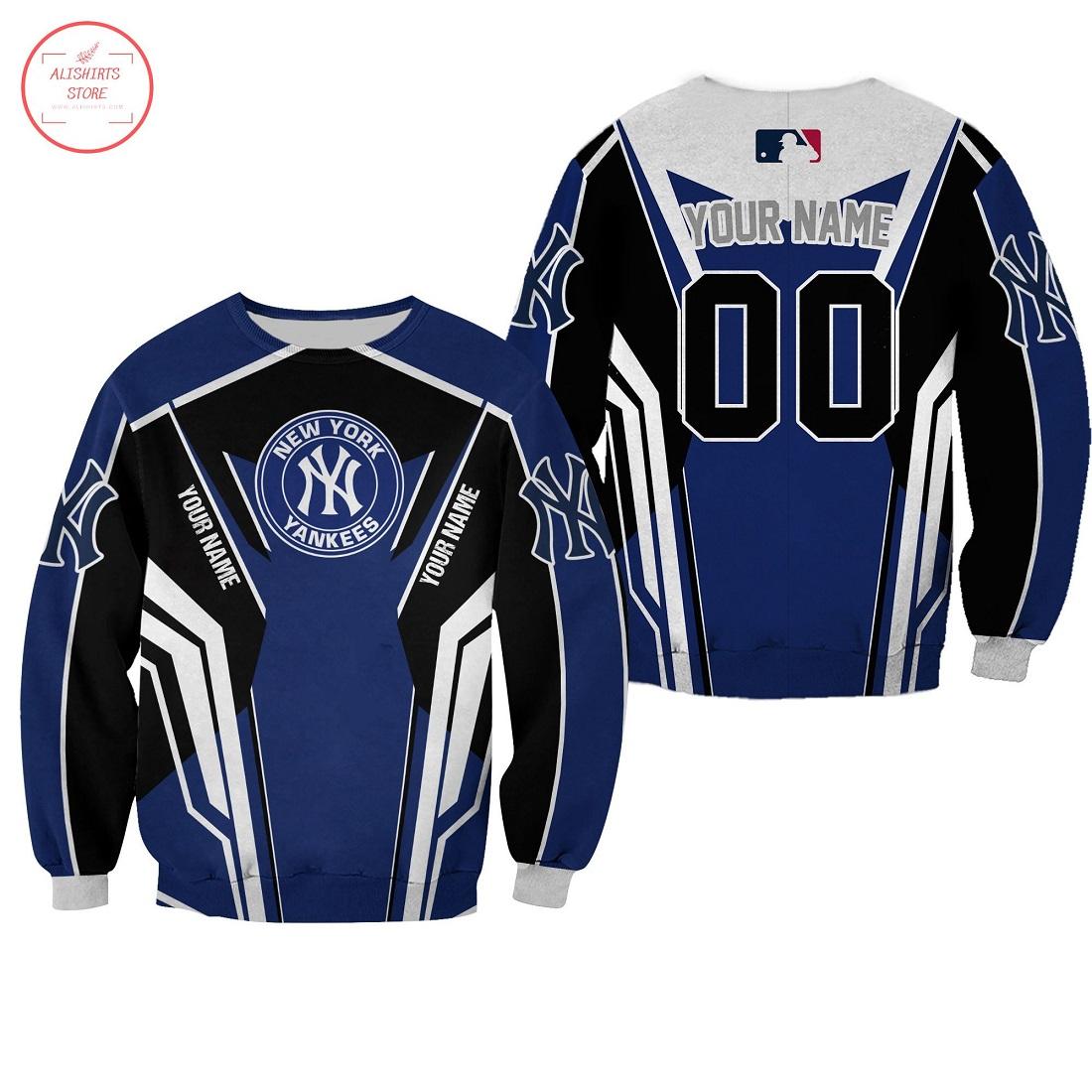 Personalized New York Yankees 3D T-Shirt, Hoodie, Sweatshirt