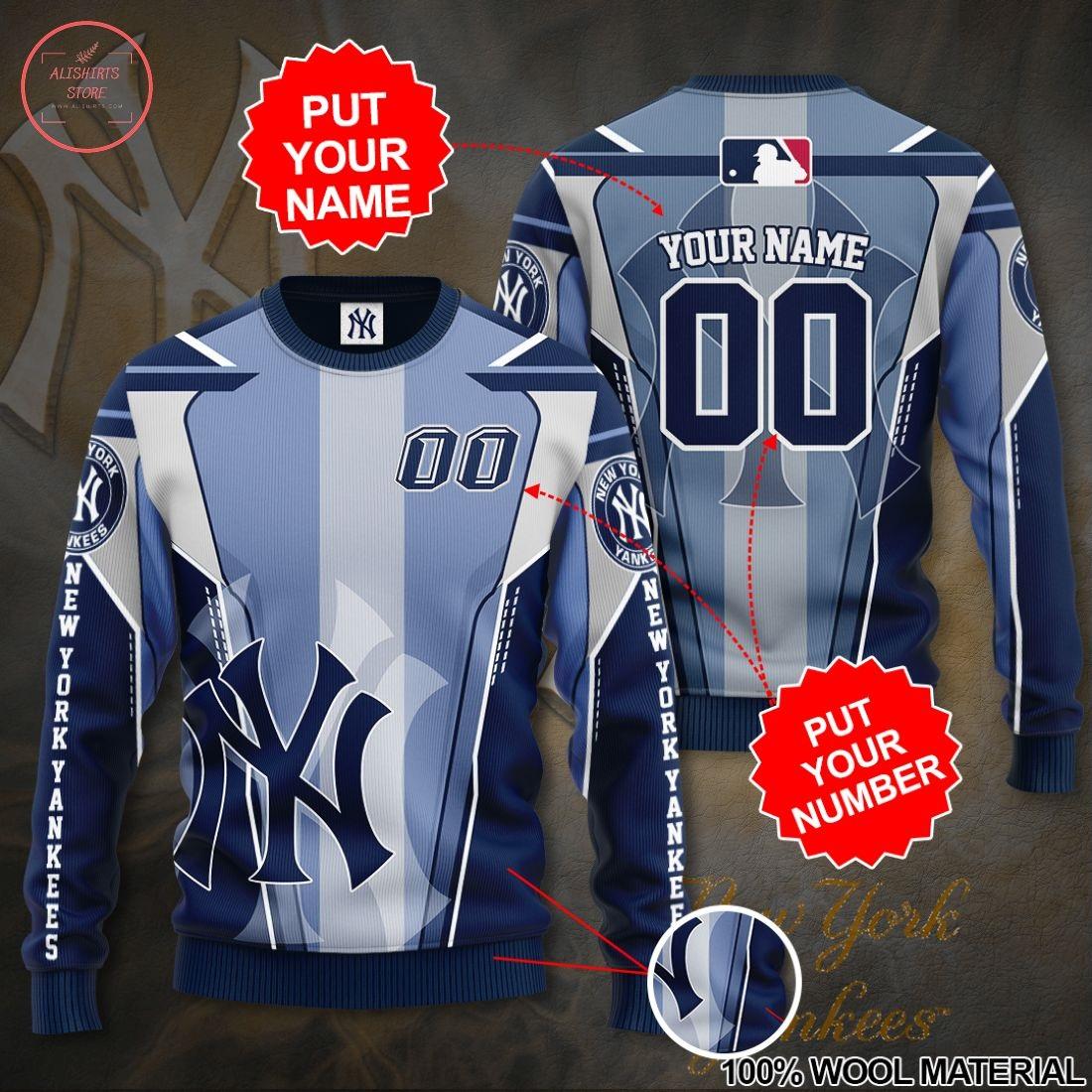 Personalized New York Yankees MLB 3D Sweatshirt