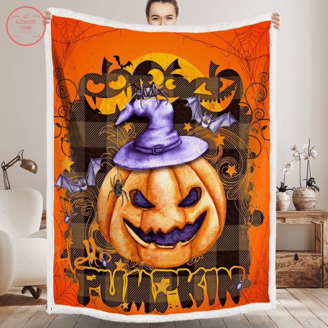 Pumpkin Boo Boo Halloween Quilt Bedding