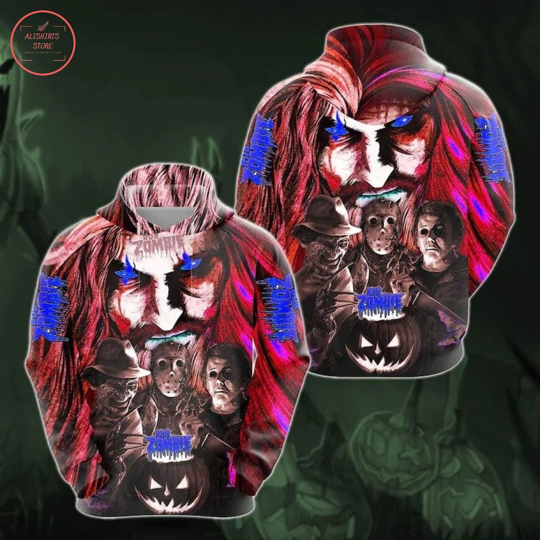 Rob Zombie Horror Movie Halloween Hoodie