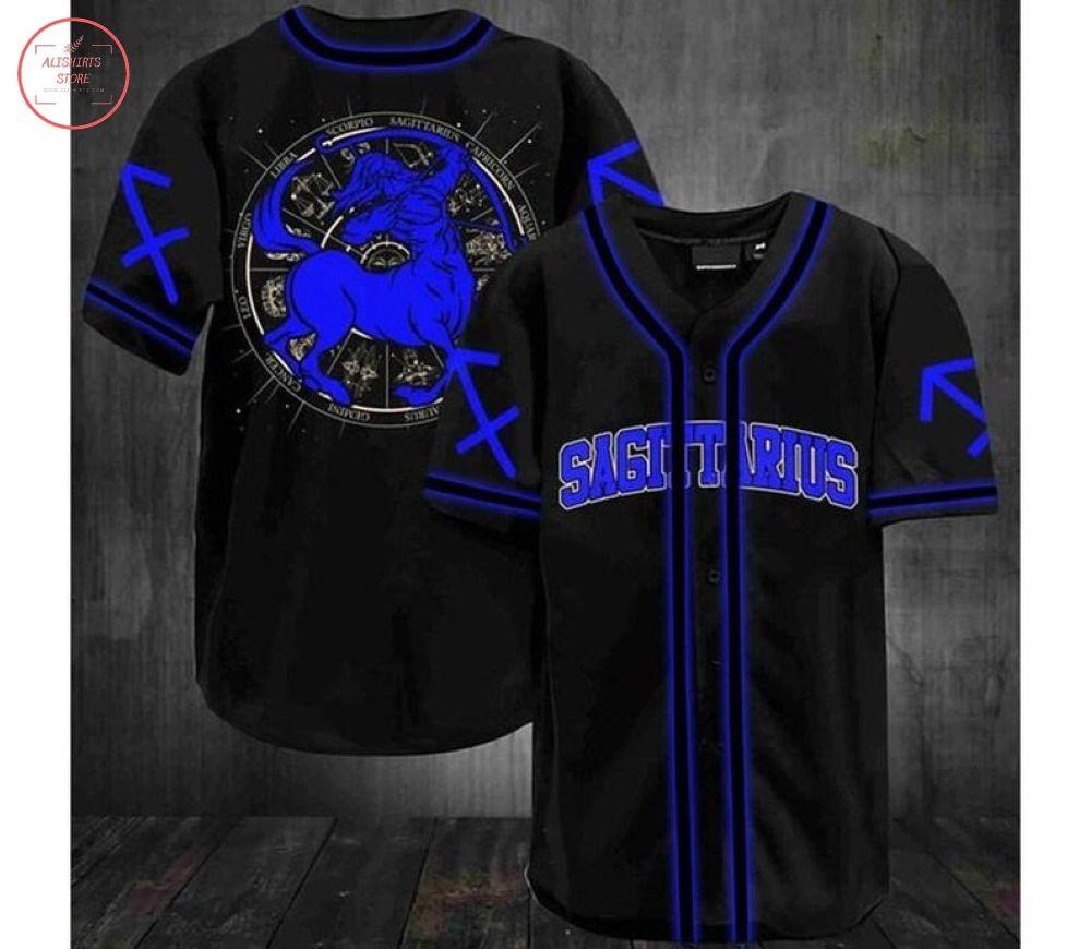 Sagittarius Zodiac Baseball Jersey