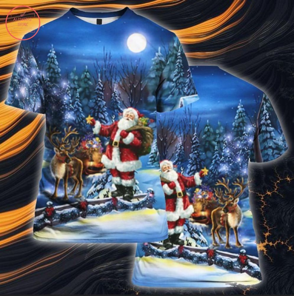 Santa Claus Is Coming With You Shirt and Hoodie