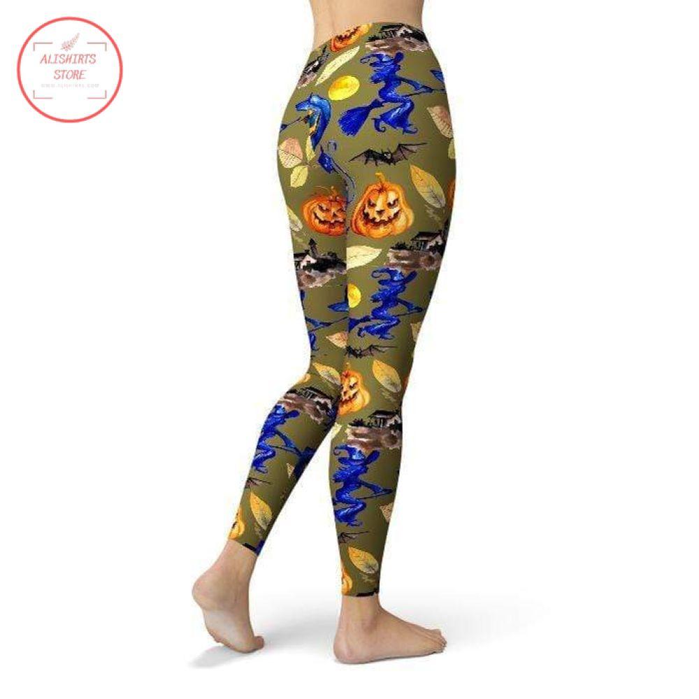 Spooky pumpkin 2 Halloween Leggings