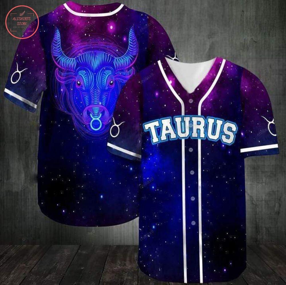 Taurus Zodiac Baseball Jersey