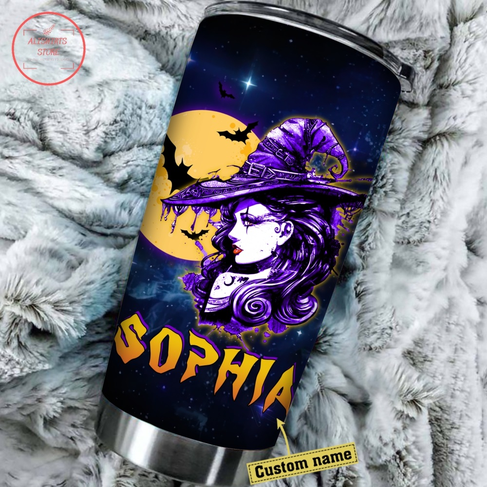 The Witch Can Be Bribed Halloween Tumbler