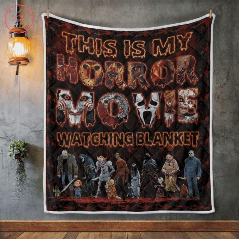 This Is My Horror Movie Halloween Fleece Blanket