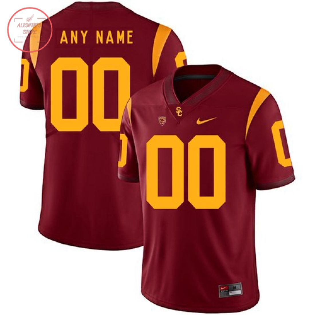 USC Trojans Custom Name Number Football Jersey