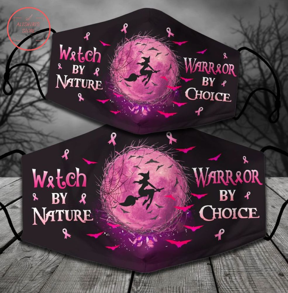 Witch By Nature Halloween Face Mask