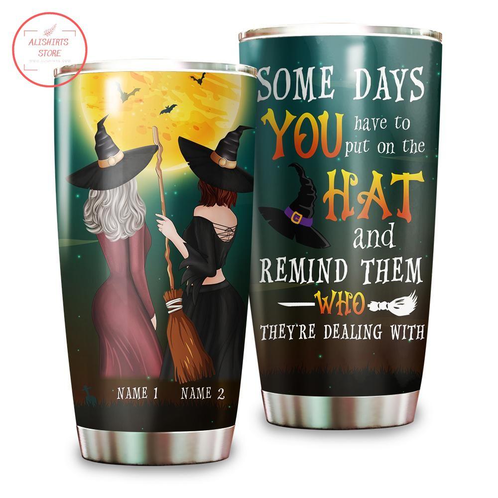 Witch Friends Besties Personalized Halloween