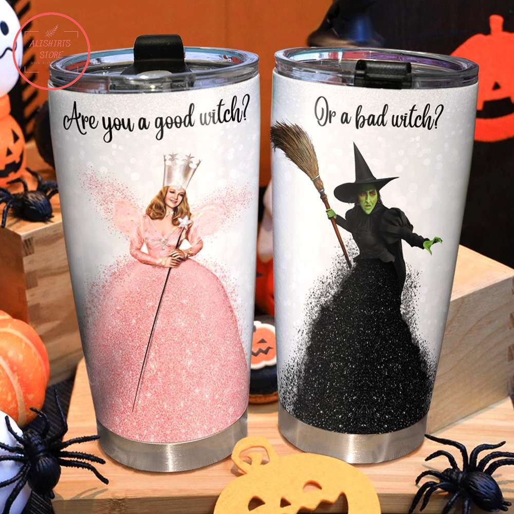 Witch Halloween Are You A Good Or A Bad Tumbler