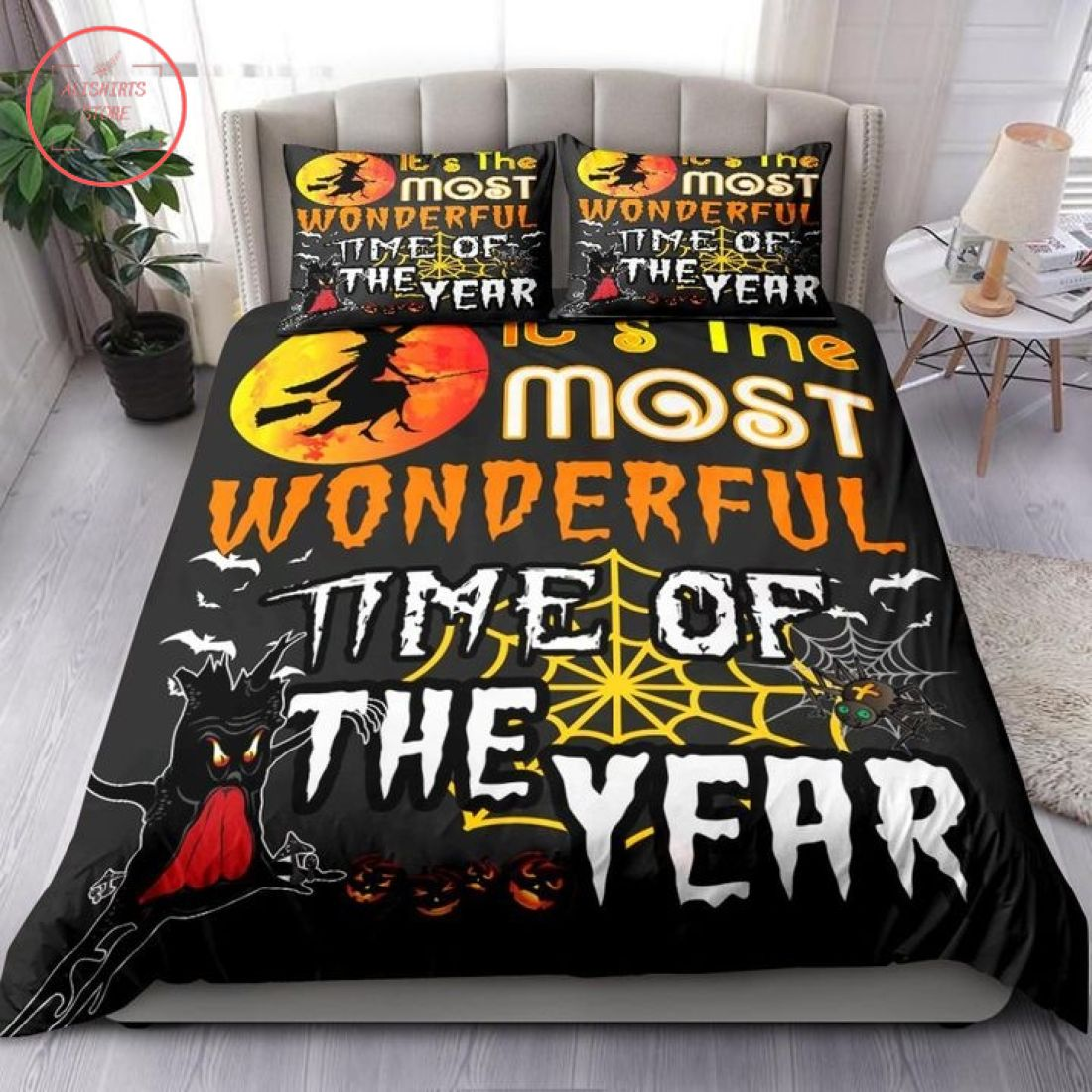 Wonderful Time of Year Halloween Blanket