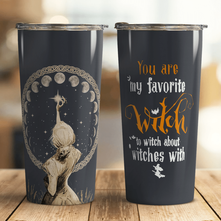 You Are My Favorite Witch In Halloween Night Tumbler