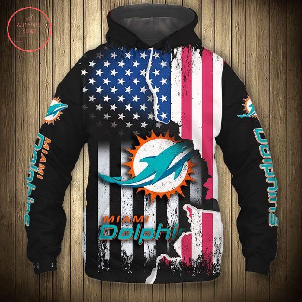 American Miami Dolphins Christmas Hoodie