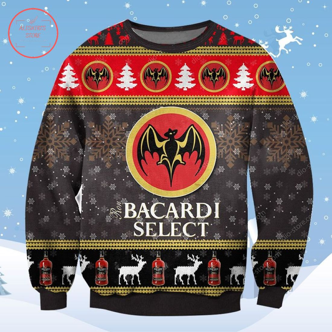 Bacardi Select Ugly Christmas Sweater