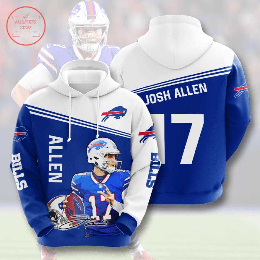 Buffalo Bills Josh Allen 3D Hoodie