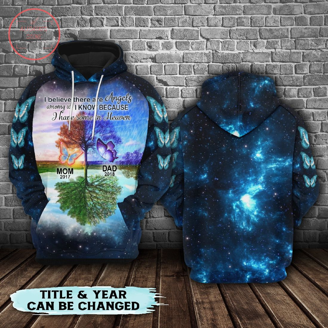 Buttlefly I Have Some 3D Hoodie