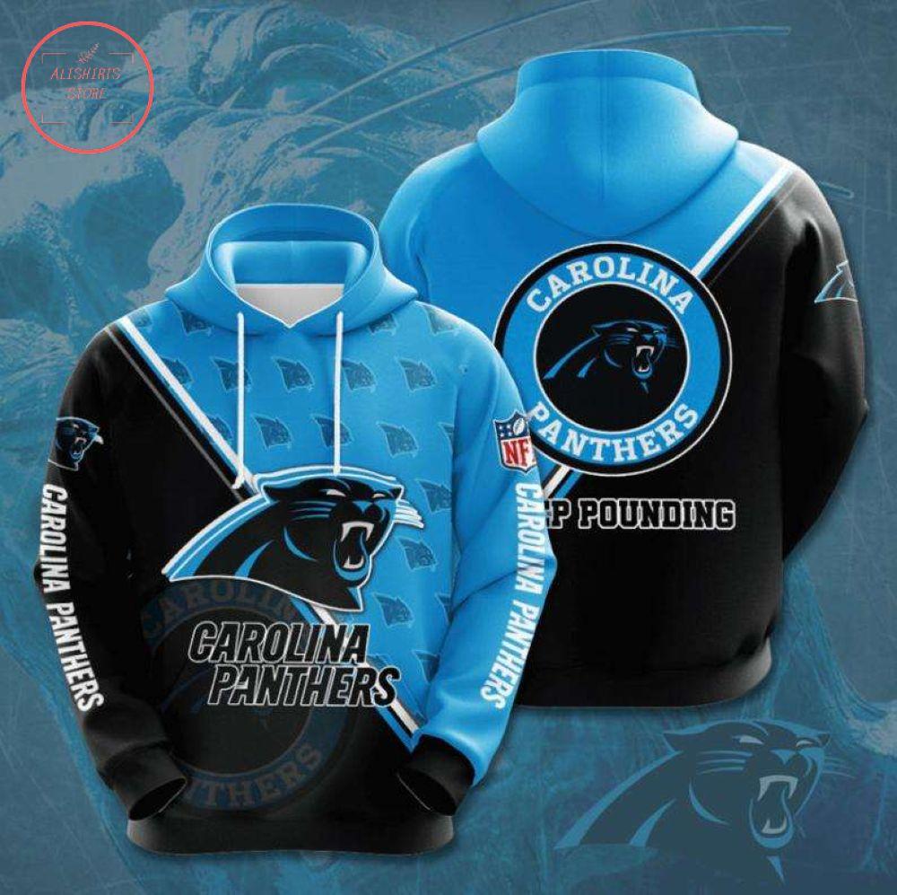 Carolina Panthers NFL 3D Hoodie